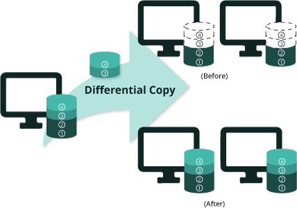 Differential NetCopy